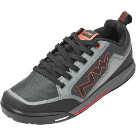 Northwave Clan Shoes Herre anthracite/red